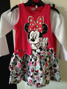 Minnie Mouse jurk, Primark