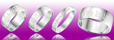 Names4ever, sieraden, Ringen