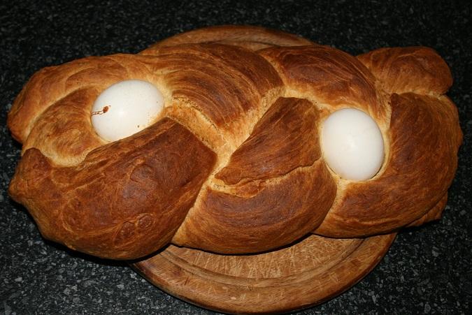 Het resultaat, Paasvlechtbrood maken