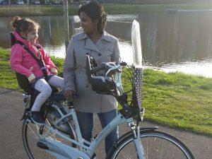 Bobike fietsstoeltje