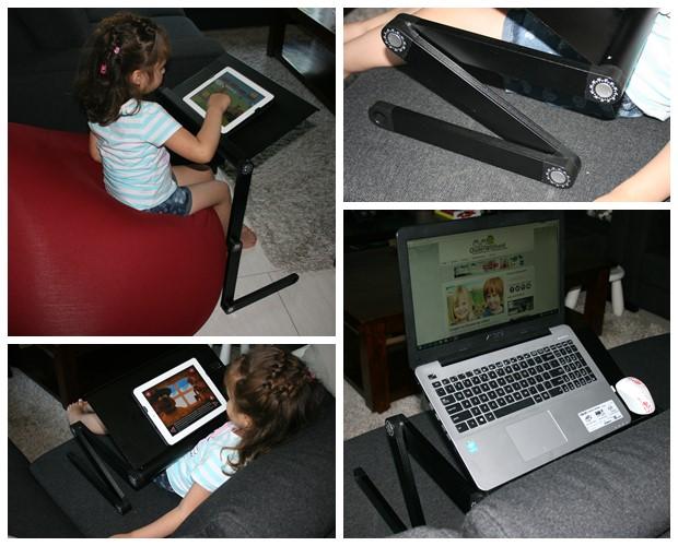 Ergonomische laptop tafel