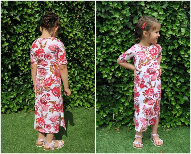 maxi jurk, Ninie kinderkleding