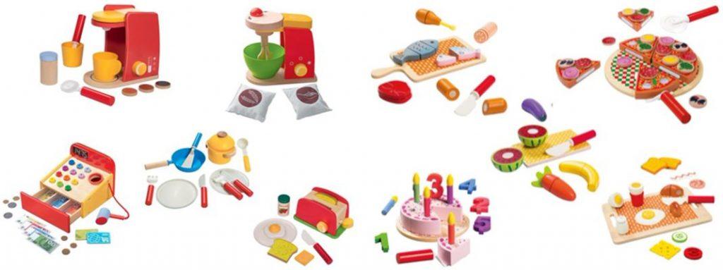 Speelgoedkeuken van de Lidl, houten speelgoed