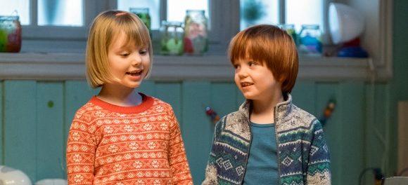 Casper-en-Emma maken theater