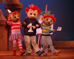 Het televisieprogramma: Het Zandkasteel, Sassa, Toto, Koning Koos, kinderen