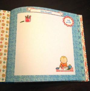 Mijn crèche- en oppasboek van Pauline Oud voorkant peueters kinderen knutselen