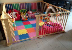 Playpen en speelmat kinderen kind peuters baby