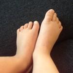 Kindervoeten, kinderschoenen