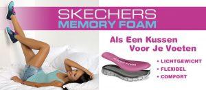 memory foam schoenen, skechers