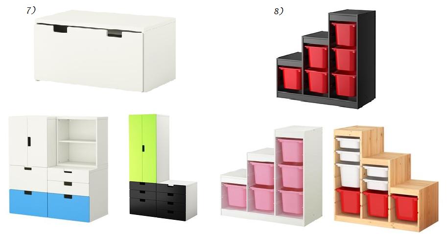 Opbergmeubels, IKEA