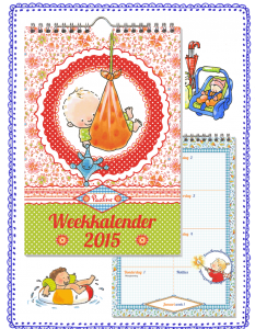 Weekkalender, Pauline Oud