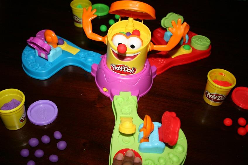 Spel spelen, Play Doh Dolle Doh Doh spel