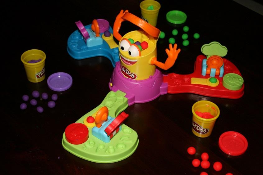 Spelen spelen, Play Doh Dolle Doh Doh spel