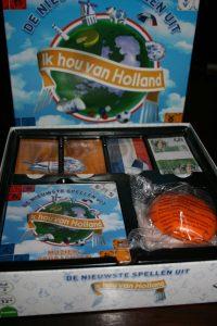 Inhoud Ik hou van Holland bordspel