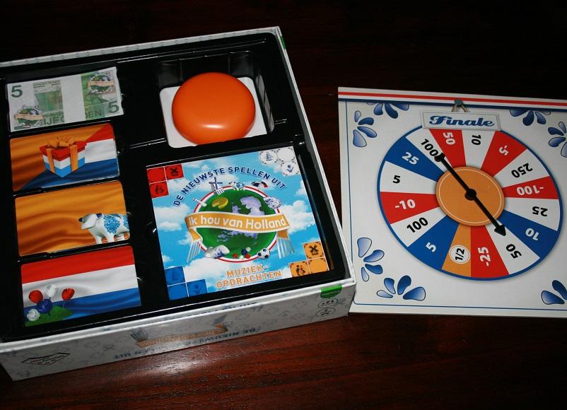 Spel spelen, Ik hou van Holland bordspel