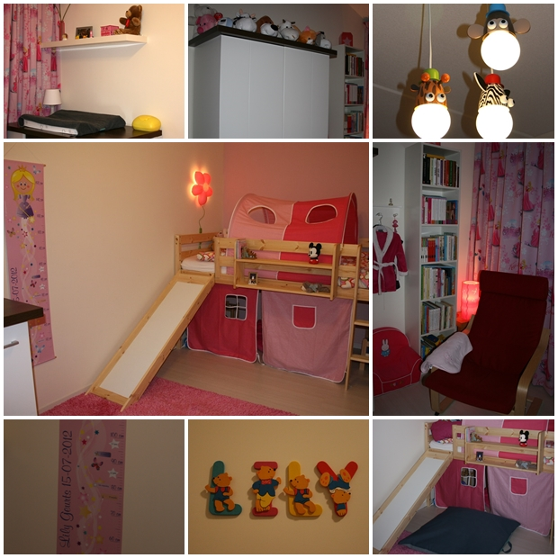 Collage kinderkamer