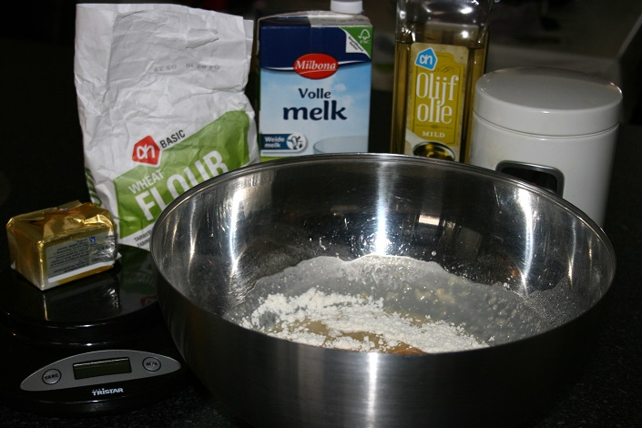 Ingredienten, Paasbrood maken