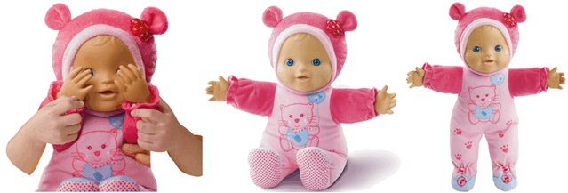 Little Love, Kiekeboe baby, Vtech speelgoed