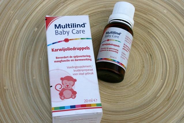 Karweioliedruppels, Baby Care producten van Multilind