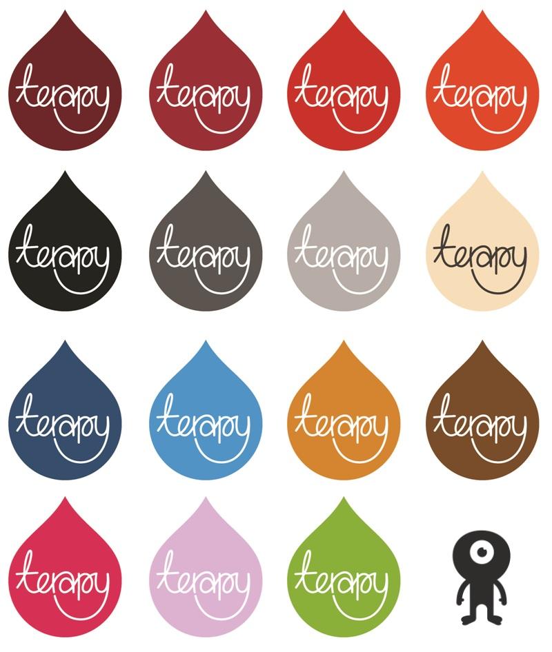 Terapy zitzak, 15 verschillende kleuren