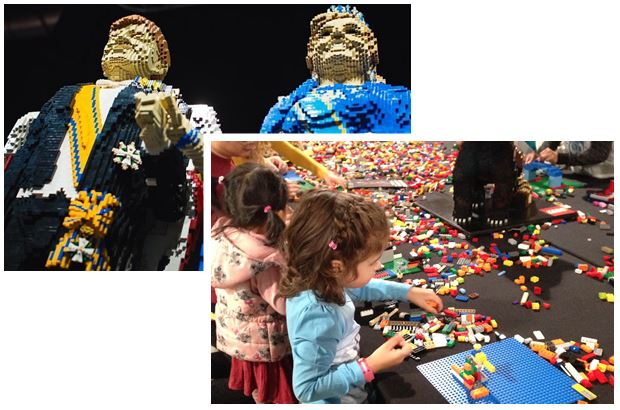 Overzicht LEGO World 2015