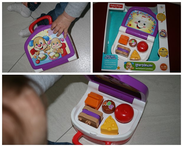 Sorteerpret lunchbox, Fisher Price