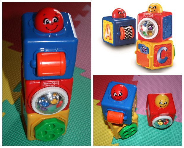 Stapelblokken, Fisher Price