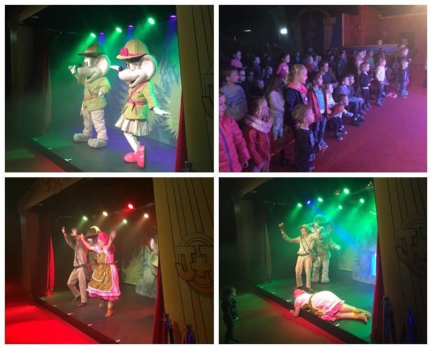 Theatershow, Julianatoren, Dagje uit
