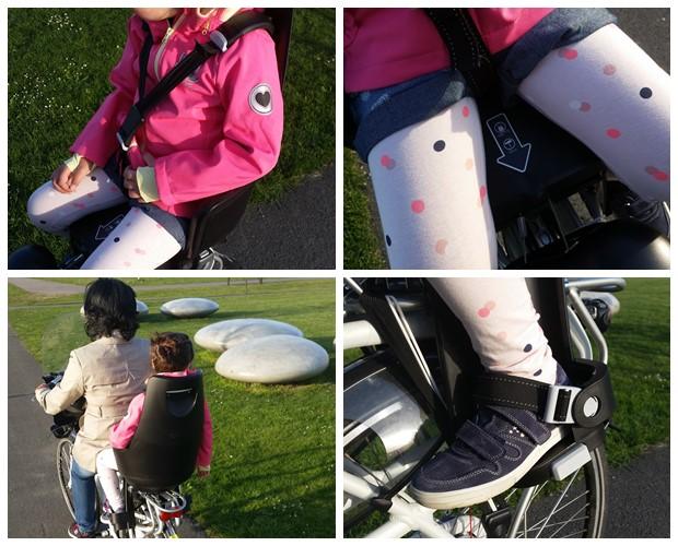 Veiligheid Bobike fietsstoeltje
