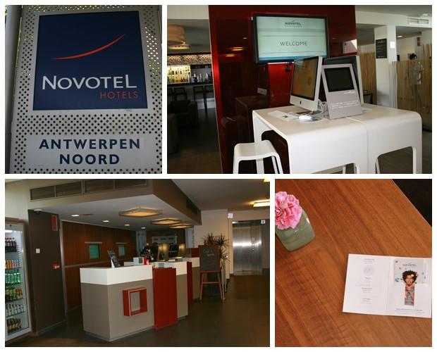 Aankomst Novotel Antwerpen