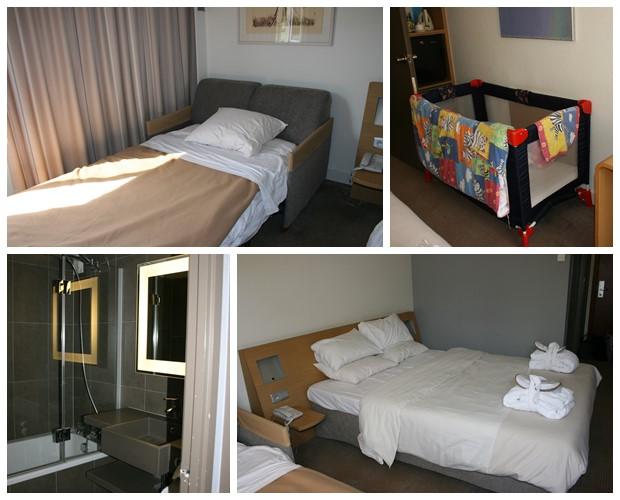 Hotelkamer Novotel Antwerpen