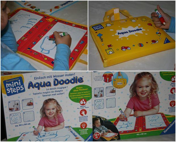 aqua-doodle, mini steps, ravensburger
