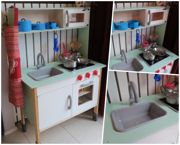 Het Lidl keukentje met een kleurtje!