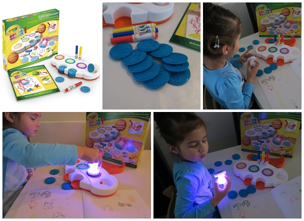 light-up-stamper, Crayola