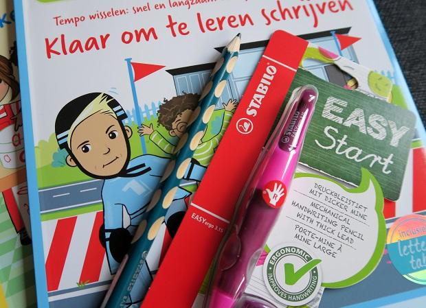 Stabilo, easy start, leren schrijven