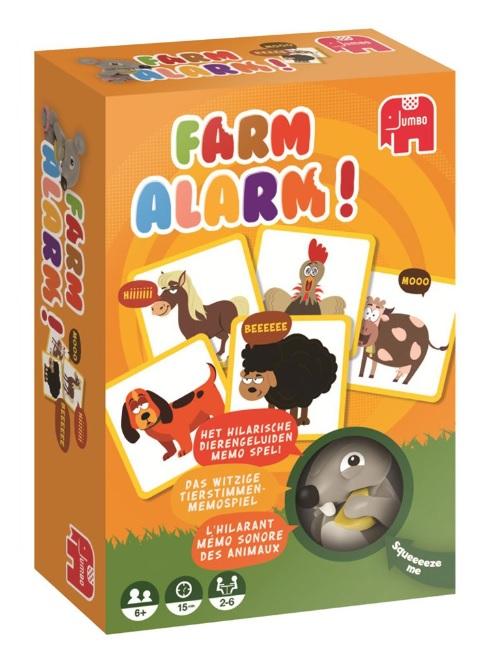 Familiekaartspellen van Jumbo, Farm Alarm
