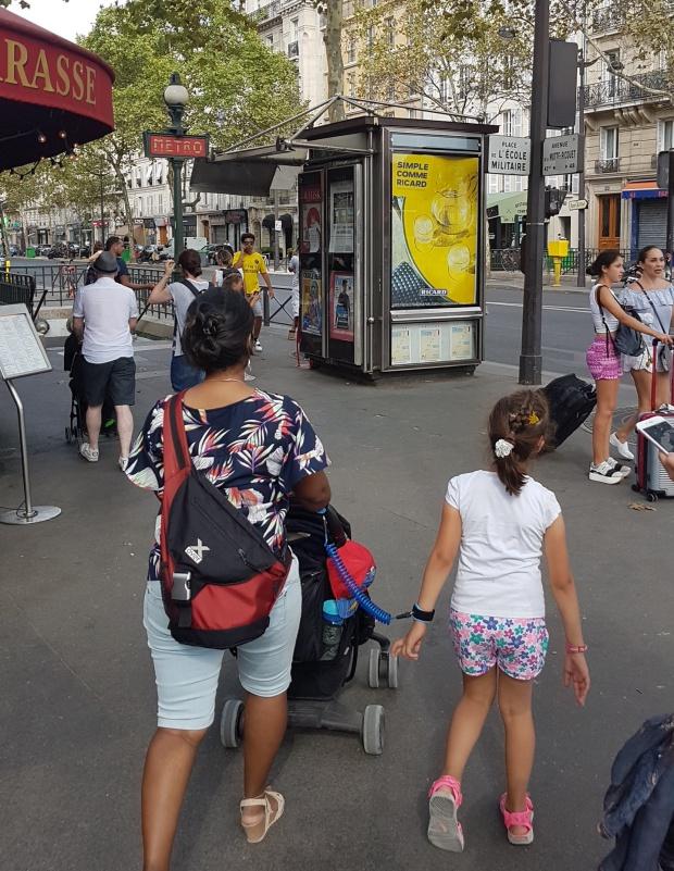 Polstuigjes, Parijs